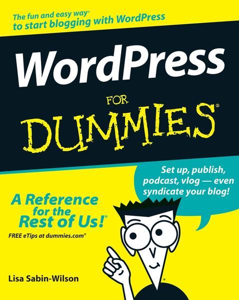 WordPress For Dummies - Coverbild