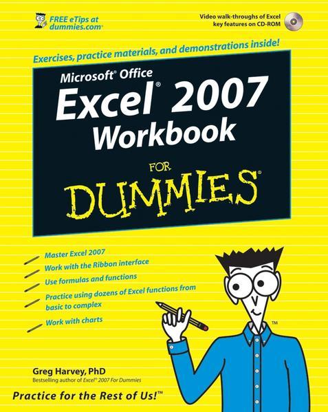 Excel 2007 Workbook For Dummies - Coverbild