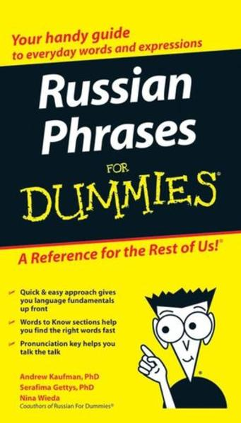 Russian Phrases For Dummies - Coverbild