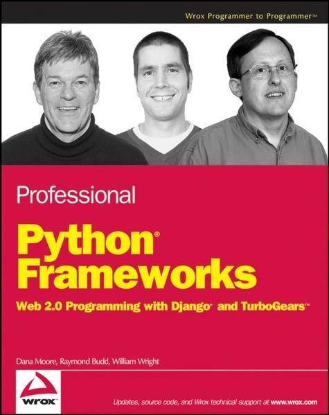 """Professional Python Frameworks"" - ePUB iBook PDF von Dana Moore 978-0470245347"