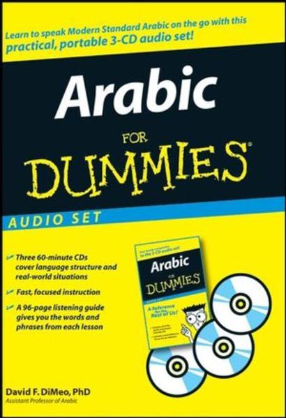 Arabic For Dummies Audio Set - Coverbild