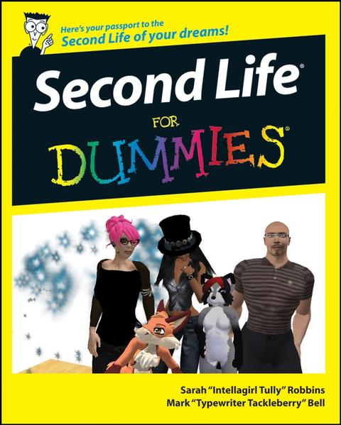 Second Life For Dummies - Coverbild