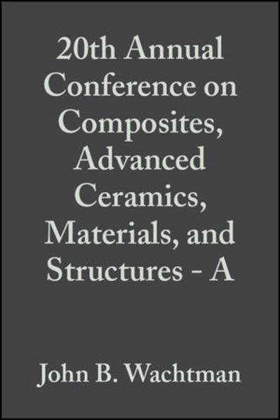 20th Annual Conference on Composites, Advanced Ceramics, Materials, and Structures - A - Coverbild
