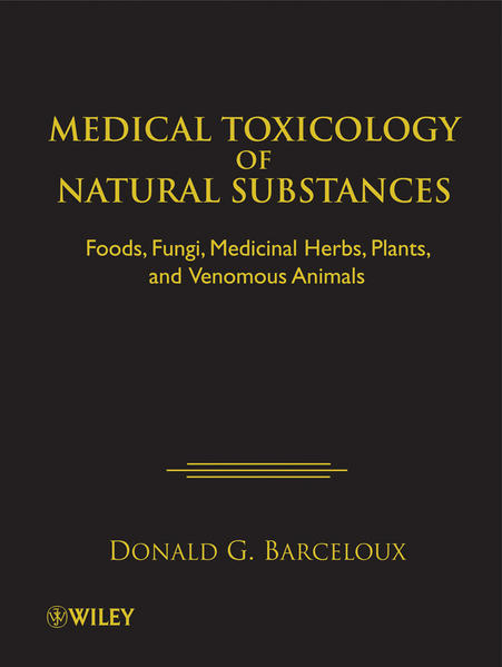 Medical Toxicology of Natural Substances - Coverbild
