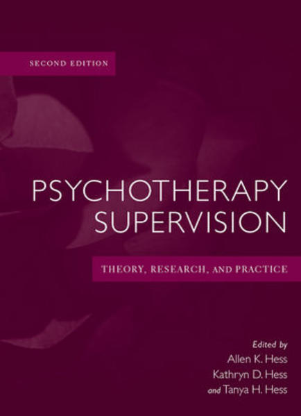 Psychotherapy Supervision - Coverbild