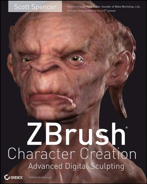 ZBrush Character Creation - Coverbild