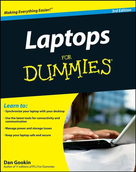 Laptops For Dummies - Coverbild
