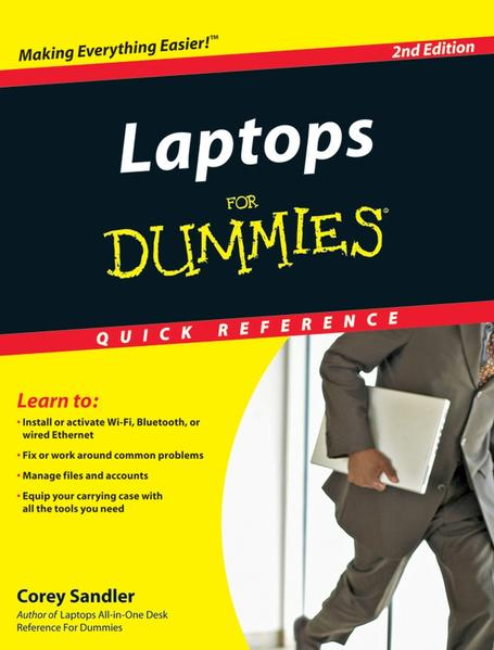 Laptops For Dummies Quick Reference - Coverbild