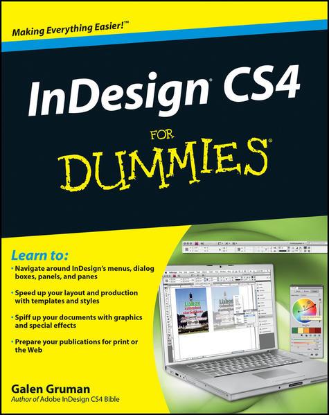 InDesign CS4 For Dummies - Coverbild