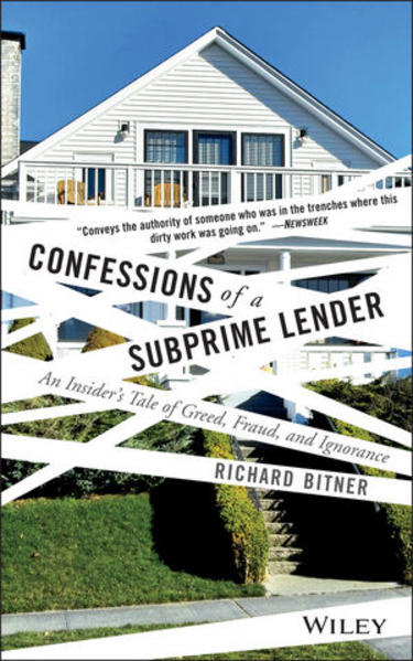 Confessions of a Subprime Lender - Coverbild
