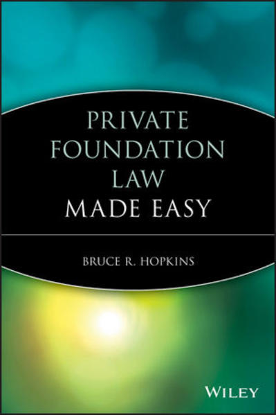 Private Foundation Law Made Easy - Coverbild