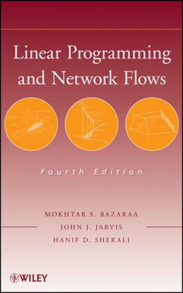 Linear Programming and Network Flows - Coverbild