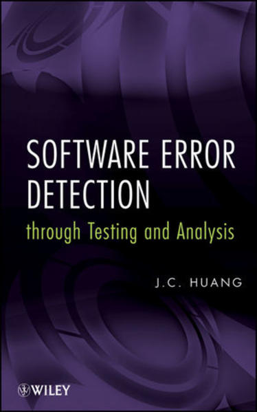 Software Error Detection through Testing and Analysis - Coverbild