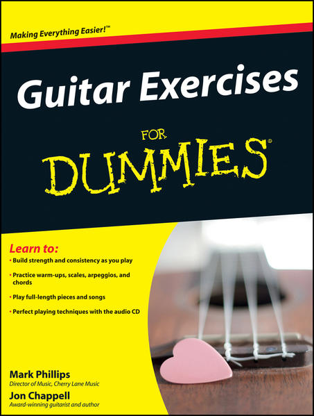 Guitar Exercises For Dummies - Coverbild