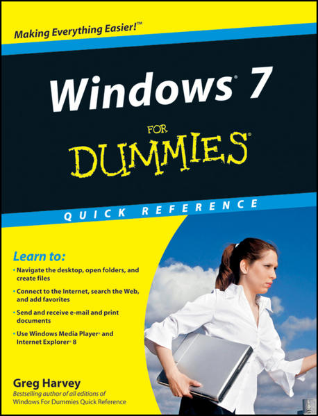 Windows 7 For Dummies Quick Reference - Coverbild