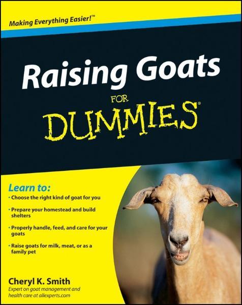 Raising Goats For Dummies - Coverbild