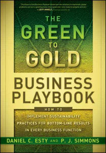 The Green to Gold Business Playbook - Coverbild