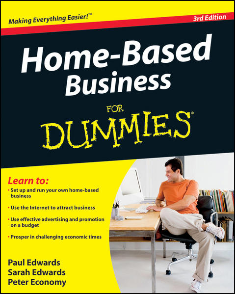 Home-Based Business For Dummies - Coverbild