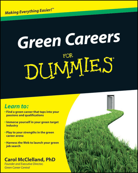 Green Careers For Dummies - Coverbild