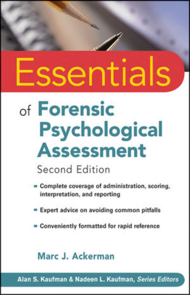 Essentials of Forensic Psychological Assessment - Coverbild