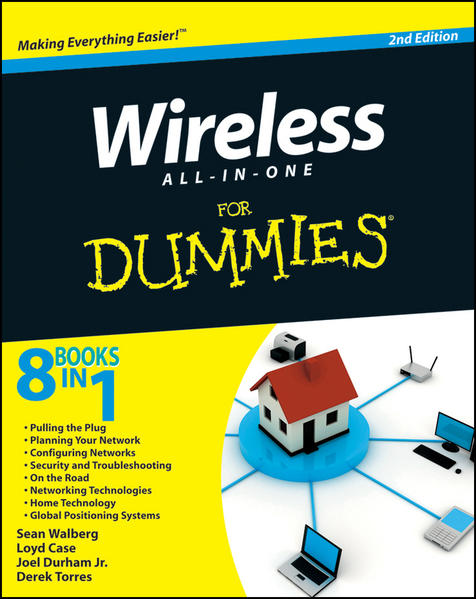 Wireless All In One For Dummies - Coverbild