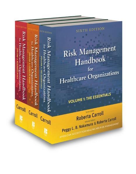 Risk Management Handbook for Health Care Organizations - Coverbild