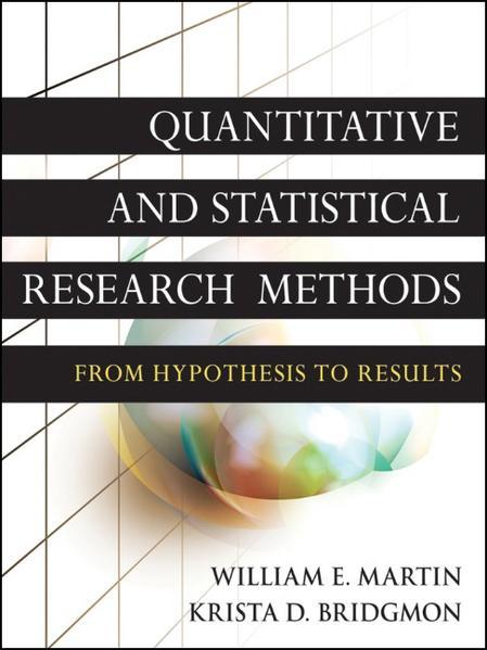 Quantitative and Statistical Research Methods - Coverbild