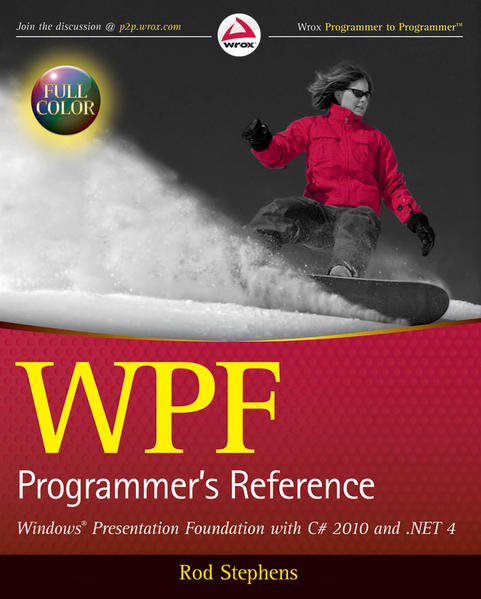 WPF Programmer's Reference - Coverbild