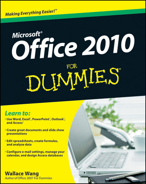 Office 2010 For Dummies - Coverbild