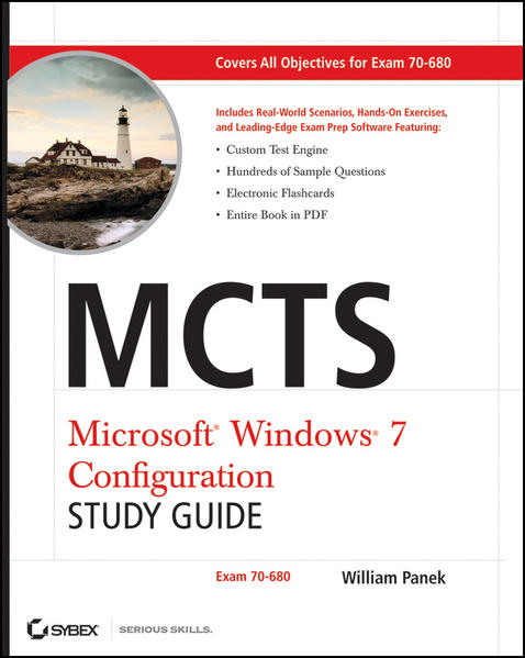 MCTS Windows 7 Configuration Study Guide - Coverbild