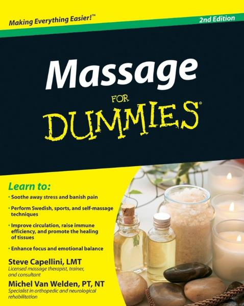 Massage For Dummies - Coverbild