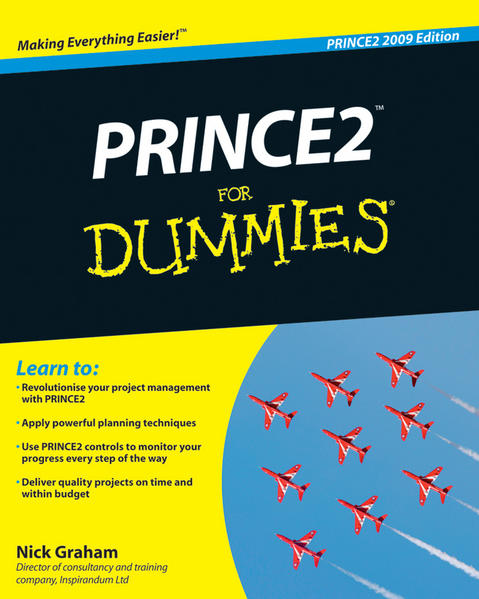 PRINCE2 For Dummies, 2009 Edition - Coverbild