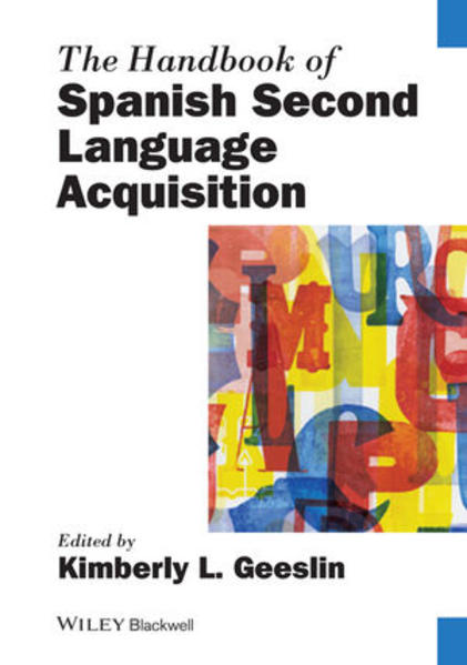 The Handbook of Spanish Second Language Acquisition - Coverbild