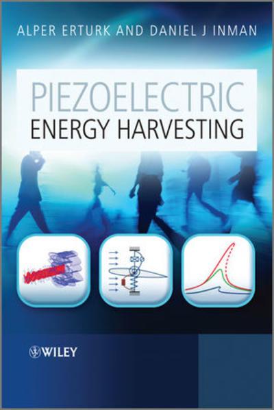 Piezoelectric Energy Harvesting - Coverbild