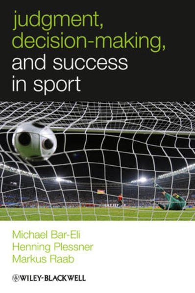 Judgment, Decision-making and Success in Sport - Coverbild