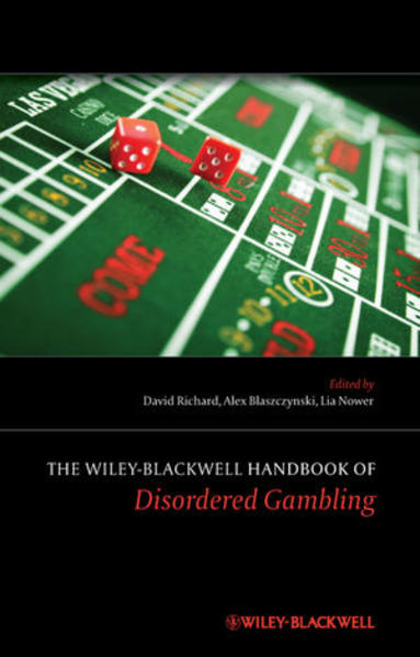 The Wiley-Blackwell Handbook of Disordered Gambling - Coverbild