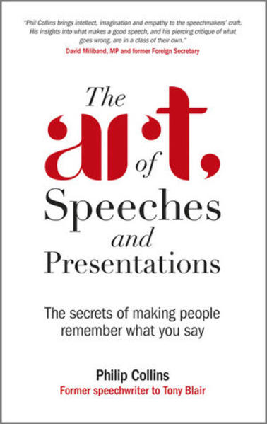 The Art of Speeches and Presentations - Coverbild