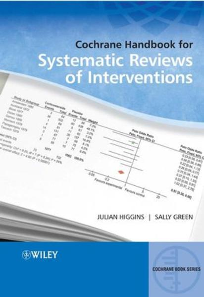 Cochrane Handbook for Systematic Reviews of Interventions - Coverbild