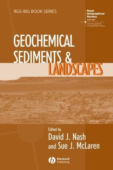 Geochemical Sediments and Landscapes - Coverbild