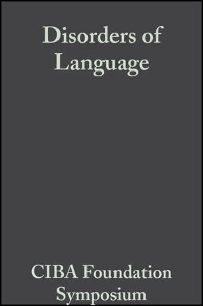 Disorders of Language - Coverbild