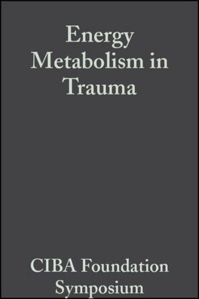 Energy Metabolism in Trauma - Coverbild