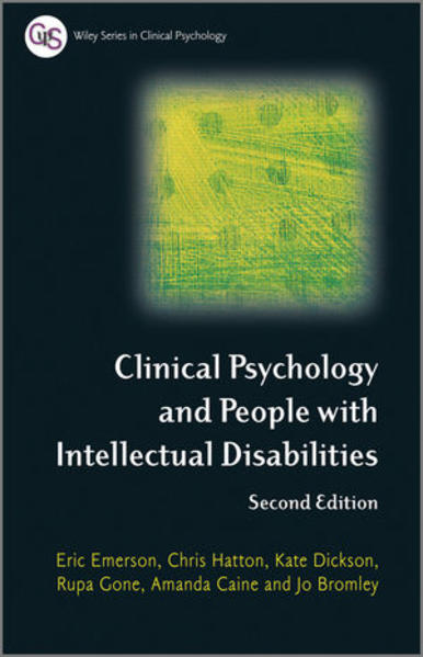 Clinical Psychology and People with Intellectual Disabilities - Coverbild