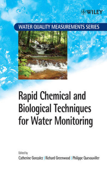 Rapid Chemical and Biological Techniques for Water Monitoring - Coverbild