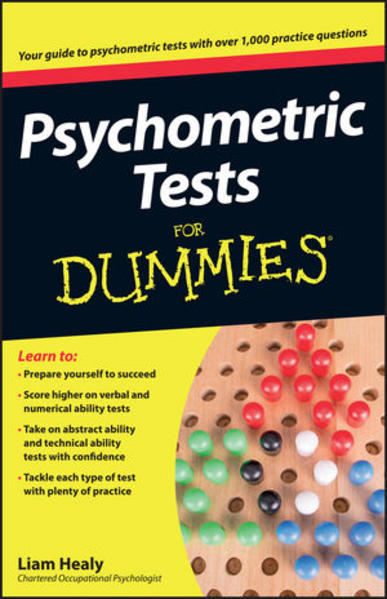 Psychometric Tests For Dummies - Coverbild