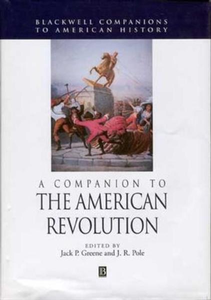 A Companion to the American Revolution - Coverbild
