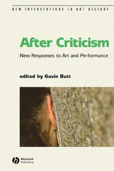 After Criticism - Coverbild