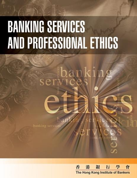 Banking Service and Professional Ethics - Coverbild