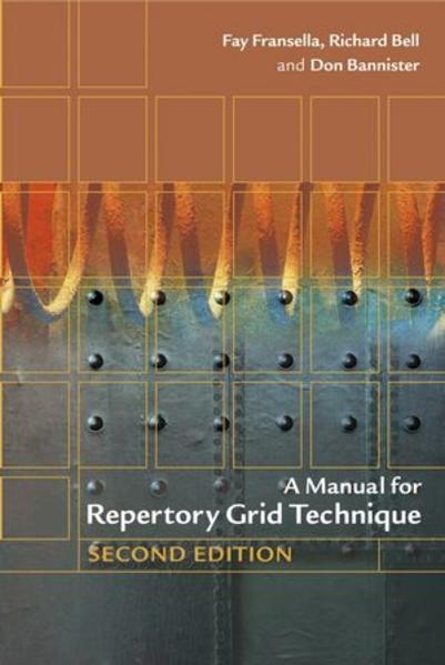 A Manual for Repertory Grid Technique - Coverbild