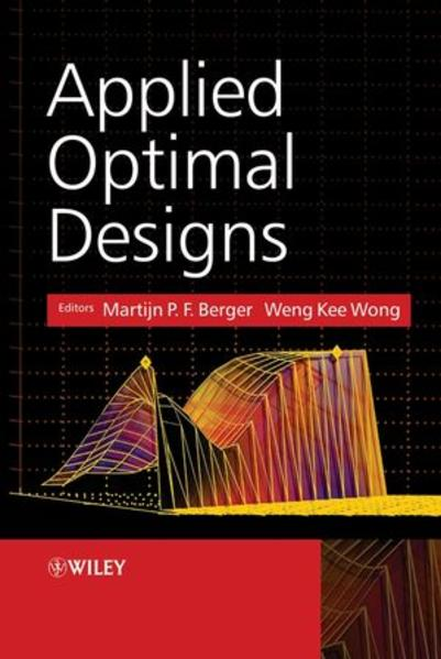 Applied Optimal Designs - Coverbild