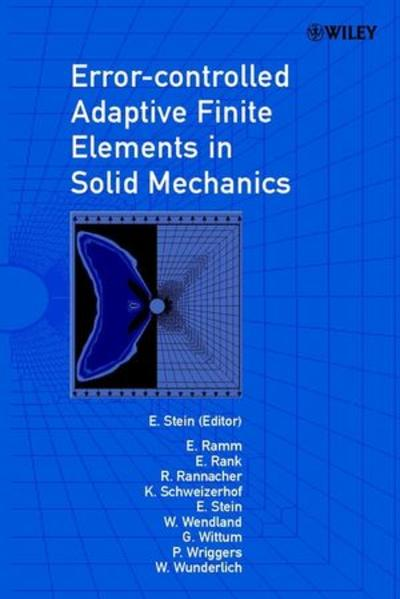 Error-controlled Adaptive Finite Elements in Solid Mechanics - Coverbild